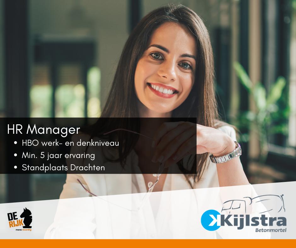HR Manager (24 uur)